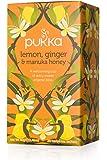 Organic Lemon Ginger and Manuka Honey Tea, 20Bags