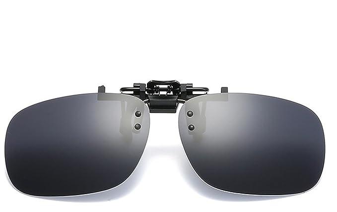 Amazon.com: Flip Up anteojos de sol polarizadas clip On ...
