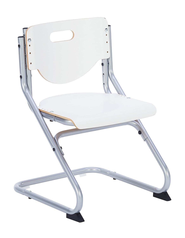 Kettler Chair Plus Weiß Schreibtischstuhl Kinder – hochwertiger Kinderschreibtischstuhl Kinderschreibtischstuhl Kinderschreibtischstuhl MADE IN GERMANY – Bürostuhl ergonomisch & höhenverstellbar – Freischwinger, der mitwächst – weiß & silber fb8b0e