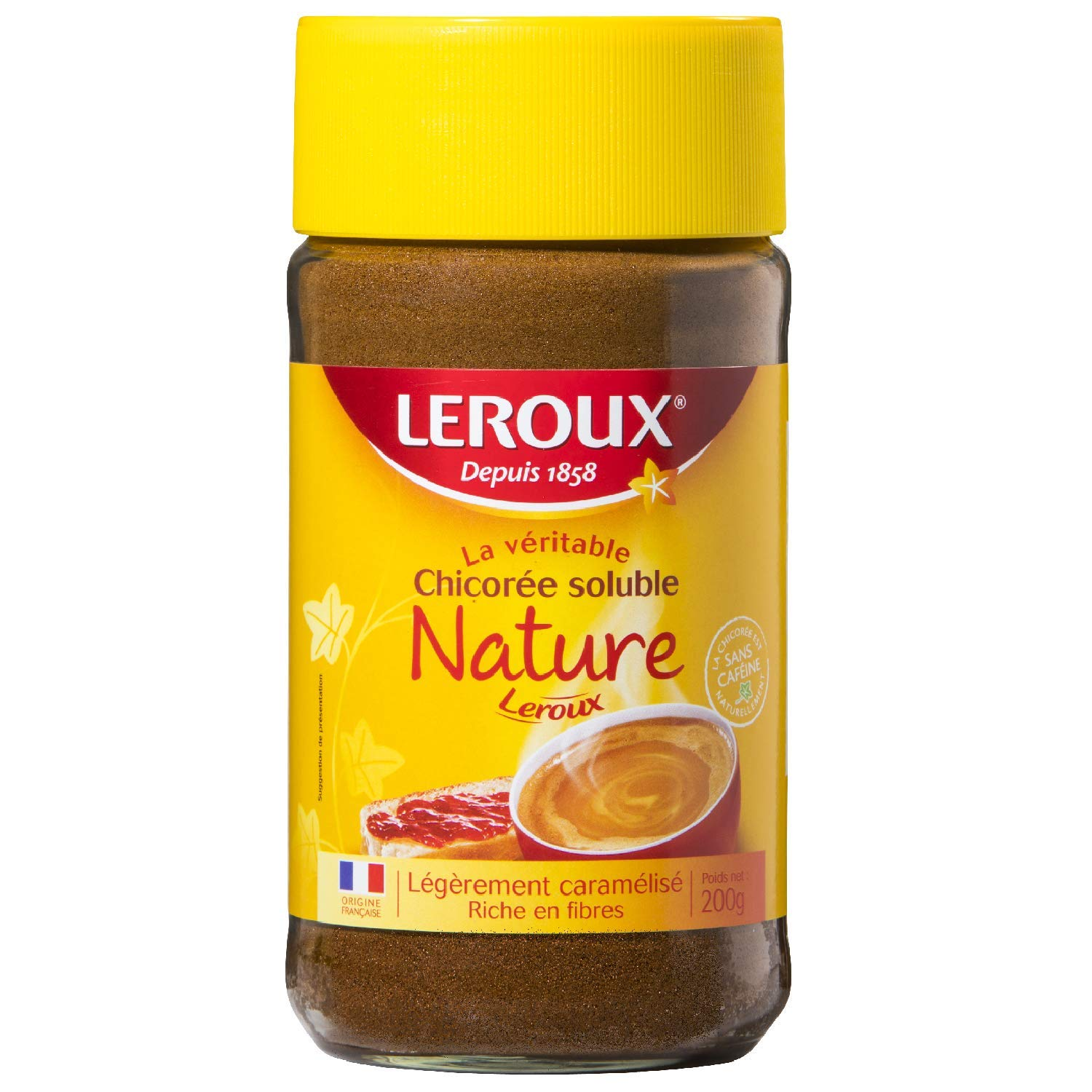 Leroux Regular Instant Chicory 7oz/200g