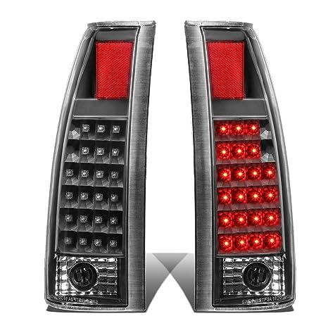 Car & Truck Parts Fit 88-01 Chevy C/K Blazer Tahoe Carbon Fiber Housing Tail Light Brake Lamps