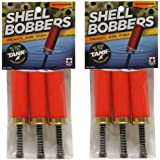 Fishing Ammo Shell Bobbers, 3 Per Pack