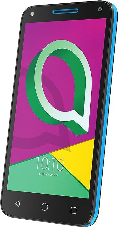 Alcatel U5 3G (4 núcleos, 8MPx, 8Gb, Dual SIM), Color Negro y Azul ...