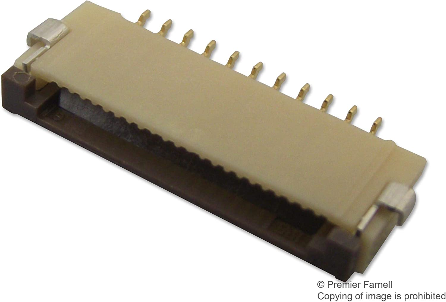 FH12 Series 11 Surface Mount Bottom 1 mm RoHS Compliant: Yes, - FFC//FPC Board Connector Receptacle Pack of 20 FH12-11S-1SH 55
