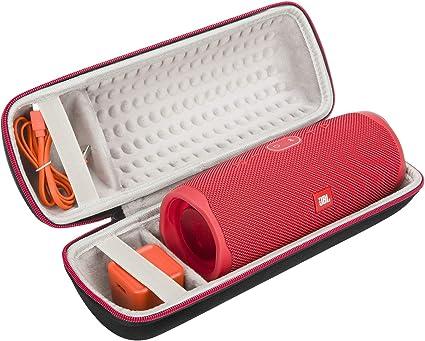 Black JONGEN Case for JBL Pulse 3 Bluetooth Waterproof Speaker Wireless Waterproof Portable Speaker Bag Hard Travel Carrying Case