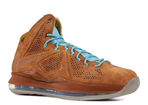 the latest 01e7d 497b4 Nike Lebron 10 EXT QS  Brown Suede  - 607078-200 - 607078-
