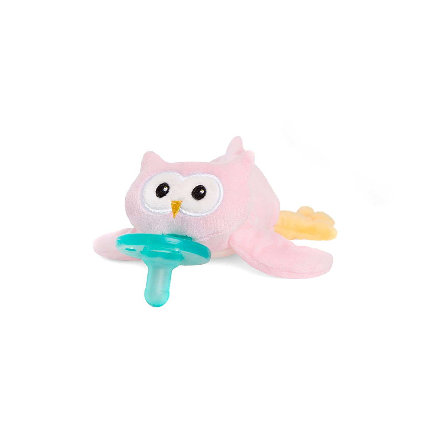 Wubbanub Infant Pacifier - Pink Owl Trebco Specialty Products Inc. W32607FBA