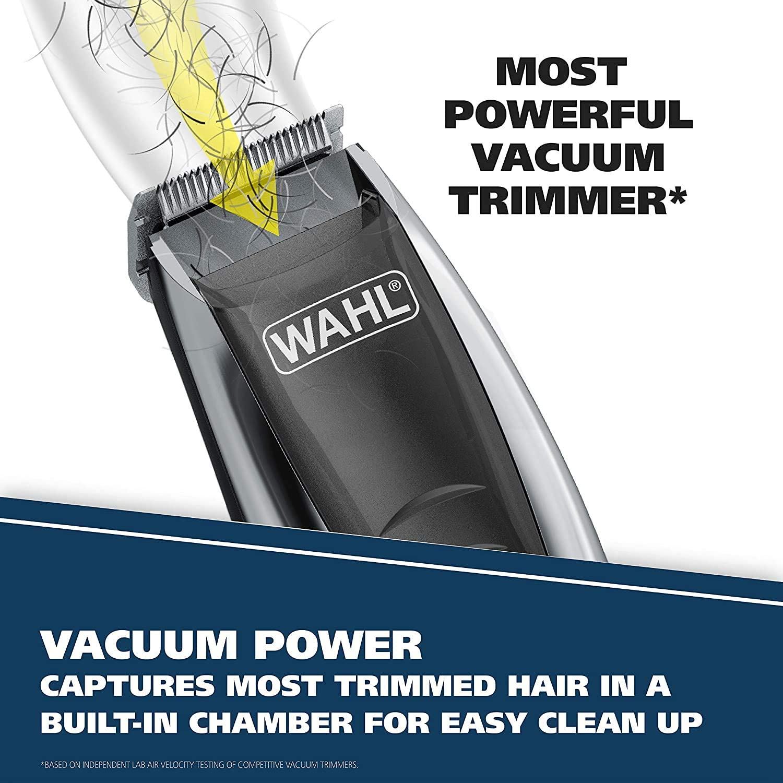 Wahl 9870-100 - Kit de recortadora al vacío con potente succión ...