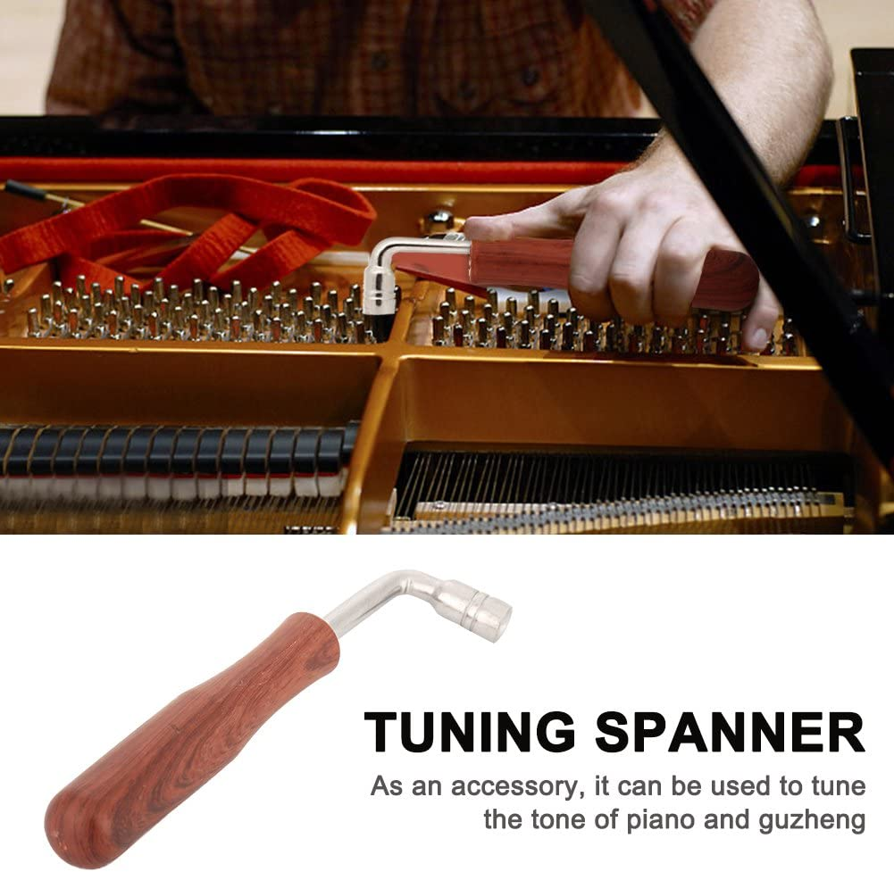 Tone Tuning Assistant Wrench Spanner Tuner for Piano Guzheng Repair Replacement Accessories Drfeify Piano Tuning Spanner