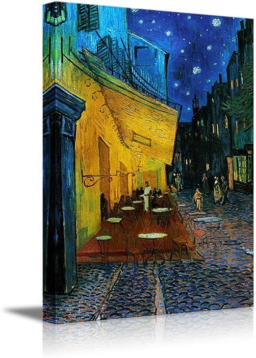 Van Gogh painting High Coffee Shop Night Art Wall Printed on canvas Home Decor