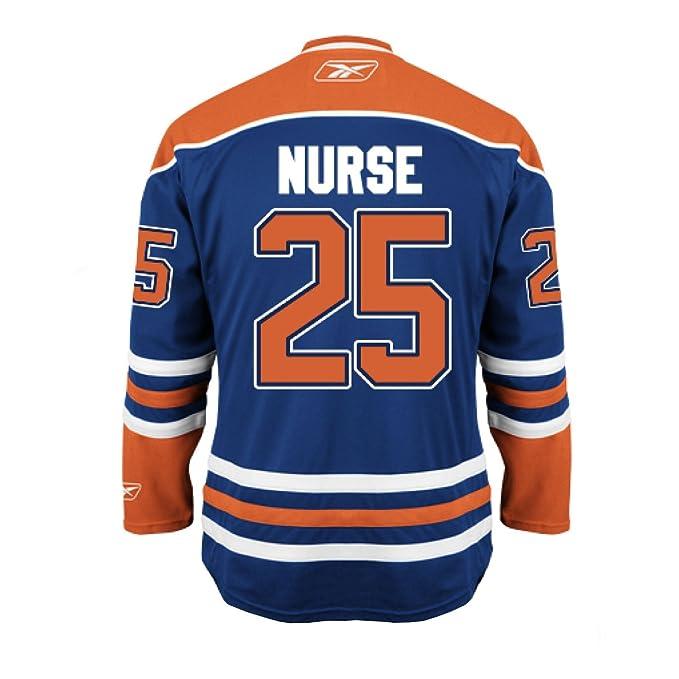 7378fe612 Darnell Nurse Edmonton Oilers Home Jersey (Small)  Amazon.ca ...