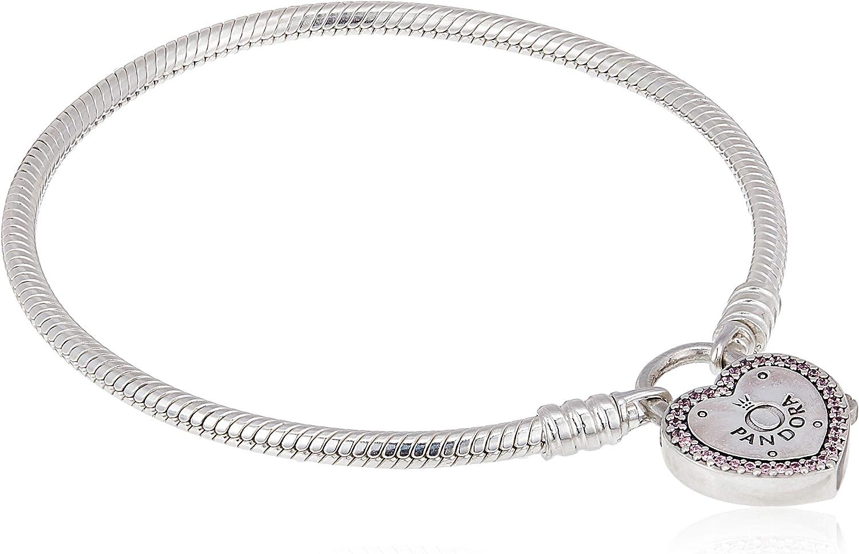 Pandora 596586FPC - Pulsera de plata para mujer