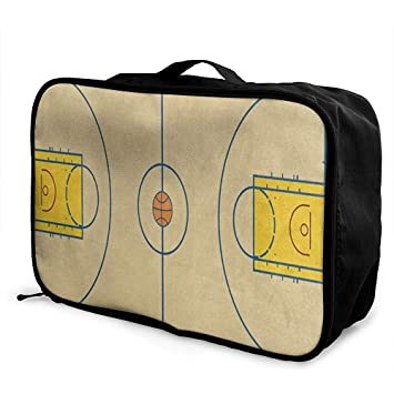Bolsas de Viaje Cancha de Baloncesto Estadounidense Almacenamiento ...