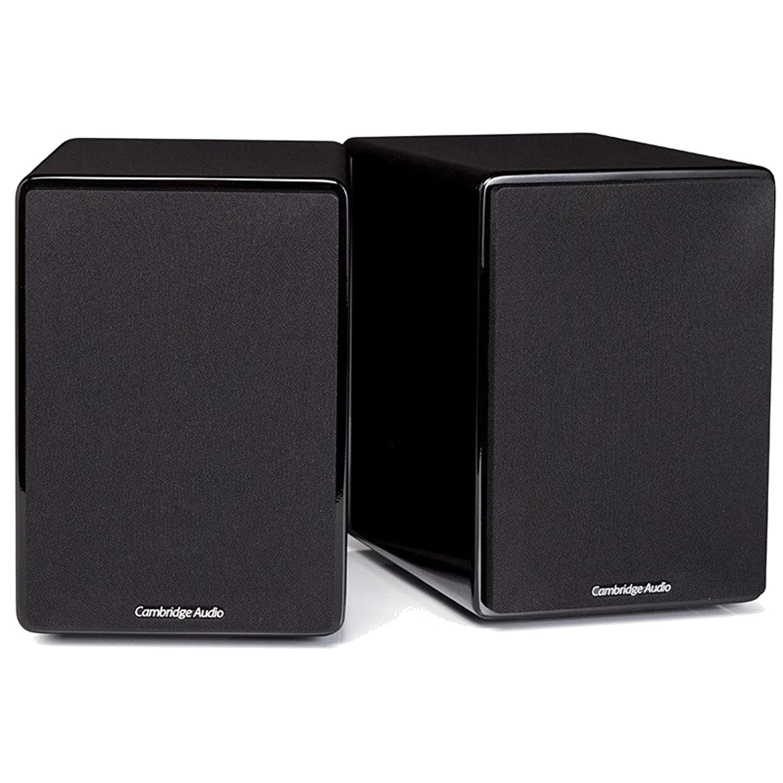 Cambridge Audio Minx XL Flagship Bookshelf Speakers, Black 220V by Cambridge Audio   B00Q6675Z0