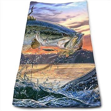 BLDBZQ Toallas de baño, Toallas de Boca de bajo para Pesca, Toallas Multiusos Muy absorbentes, Toallas de Mano para Gimnasio y SPA, 30 x 70 cm: Amazon.es: ...