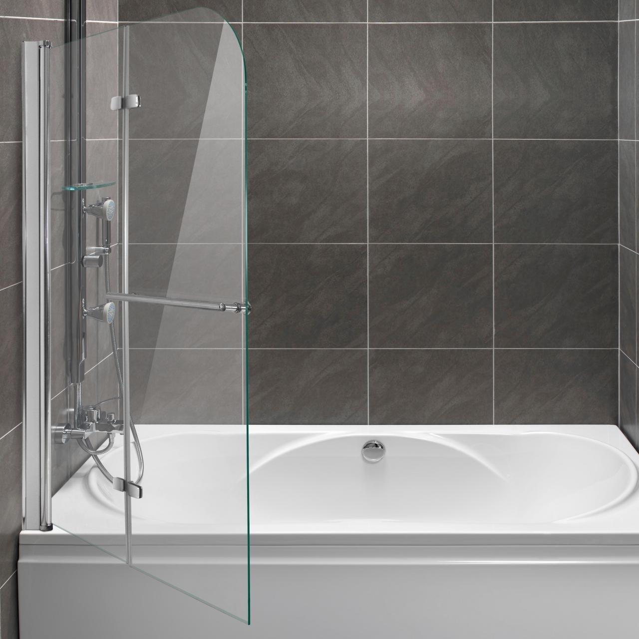 Home Lux - Mampara para bañera plegable pared faltdusch pared ...