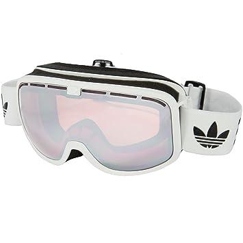 212fe3d2df64a adidas Originals Unisexe AH80 50 catchline de Ski Snowboard Lunettes – Blanc