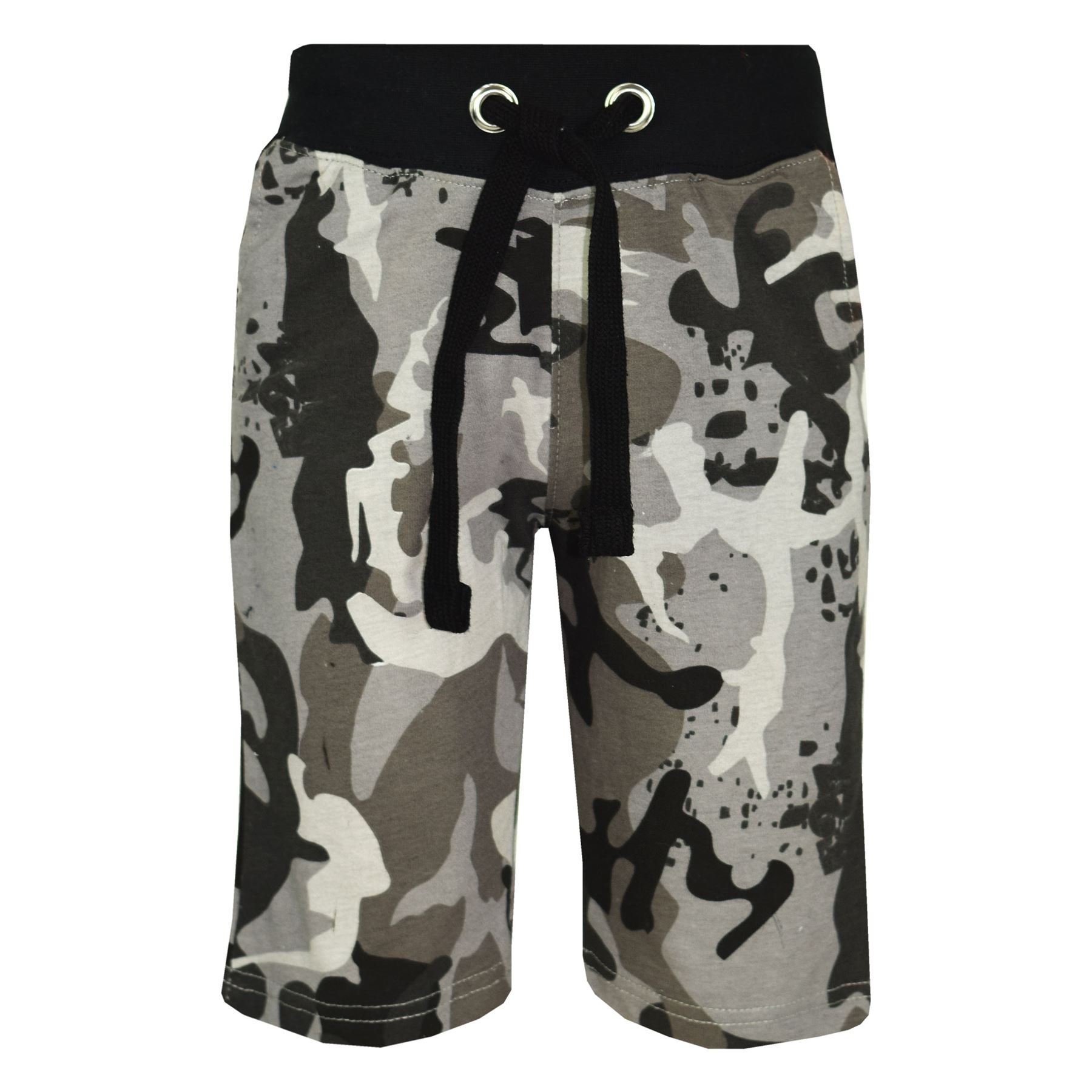Kids Girls Boys Shorts Fleece Camouflage Chino Short Knee Length Half Pant 3-13Y