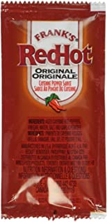 product image for Frank's Red Hot Original Cayenne Pepper Sauce, 7-gram Pouch (Pack of 200)