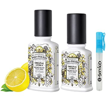 Amazoncom PooPourri Piece Bathroom Deodorizer Set Includes - Natural bathroom deodorizer
