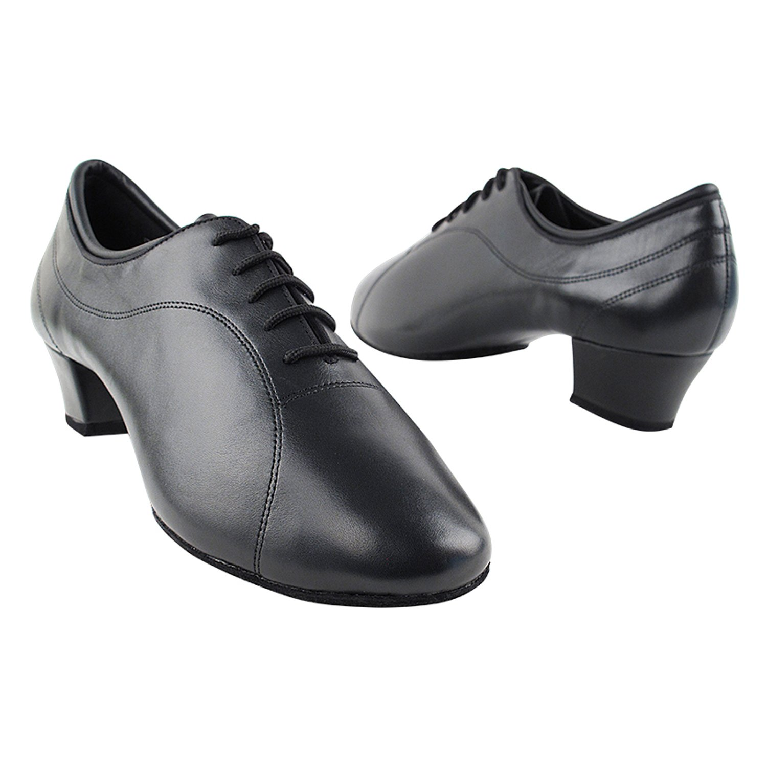 50 Shades Mens 1.5 High Heel Dance Dress Shoes Ballroom Salsa Swing Practice Casual VF Men 1.5