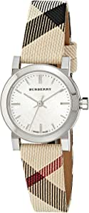 Burberry Women's BU9212 Large Check Nova Check Strap Watch