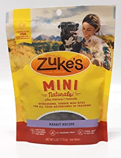 product image for Zuke's Mini Naturals Dog Treats Wild Rabbit 2 pack