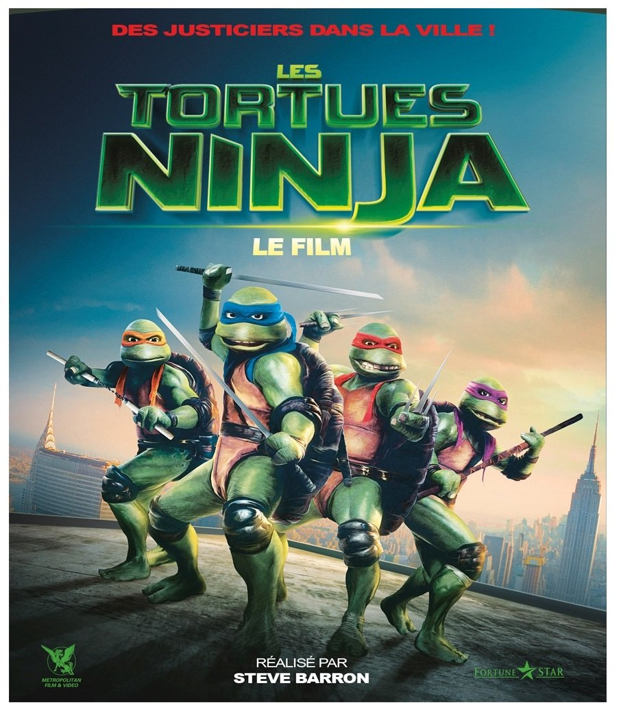 Les Tortues Ninja - Le Film [Francia] [DVD]: Amazon.es ...