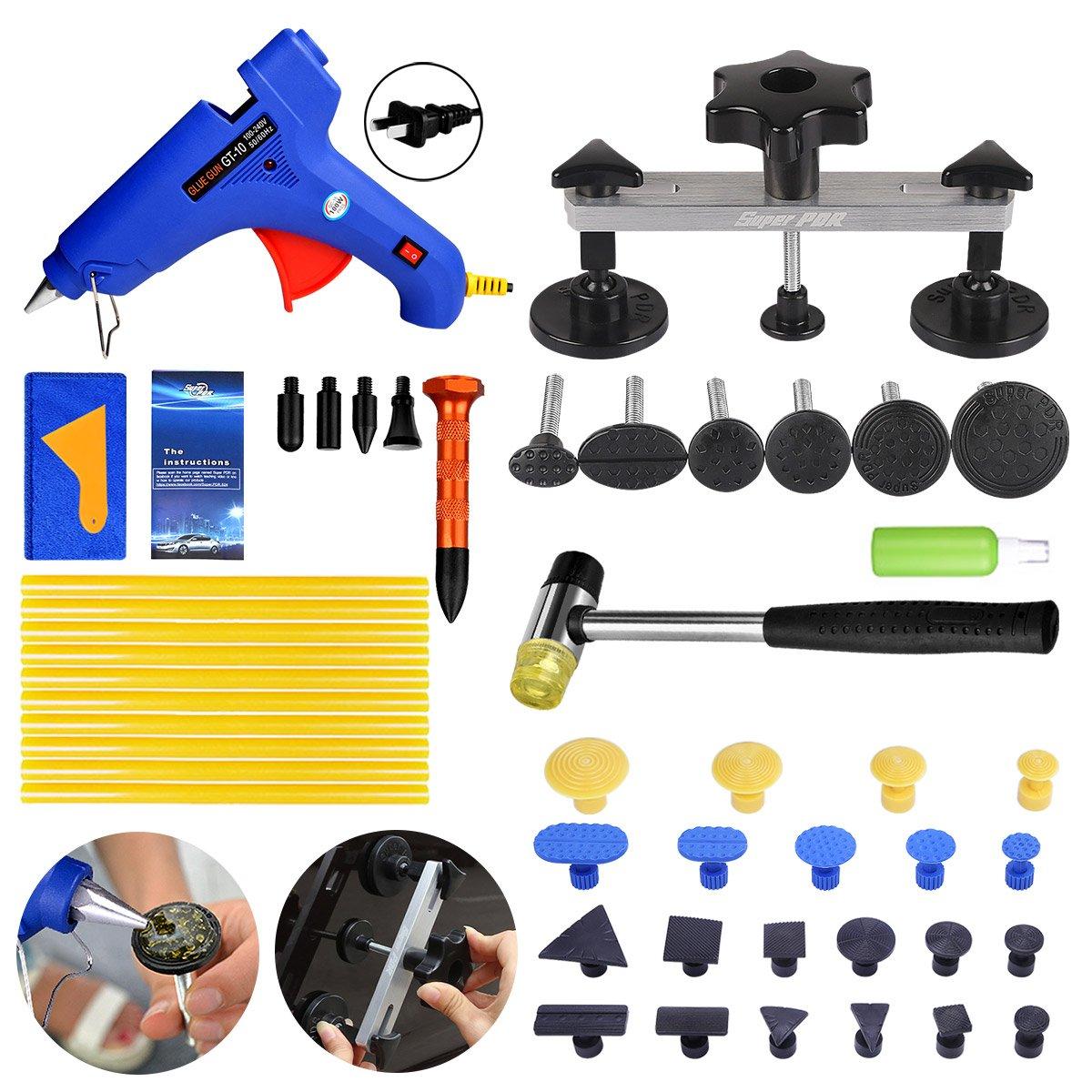 Pdr Tool-Dent Repair Tools Kit-Pops a Dent Puller Kit for Car Body Dent Repair (PA-13)