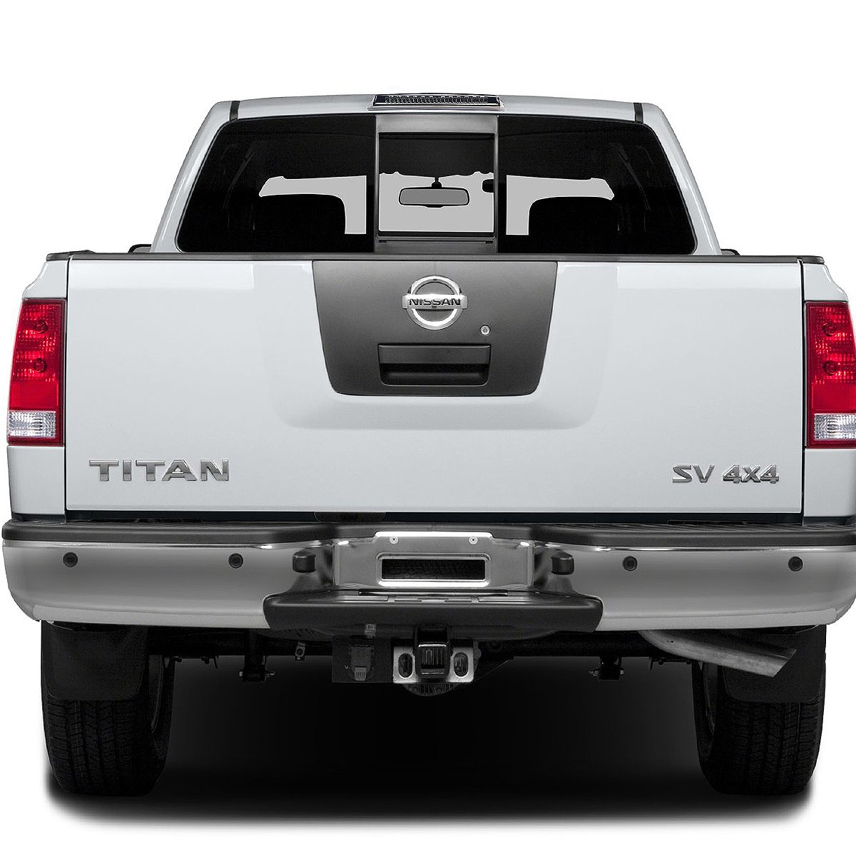 Red Lens For Nissan Frontier D40 Titan A60 Rear High Mount LED 3rd Brake//Cargo Light