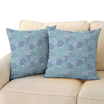 Amazon.com: Ediyuneth Fundas de almohada estándar floral ...