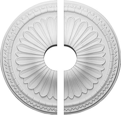 Americana Ekena Millwork CM14AXAMF 15OD x 1 3//4P Alexa Ceiling Medallion Fits Canopies up to 3