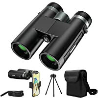 Deals on Boovv 12X42 Binoculars for Adults with Smart Phone Adapter