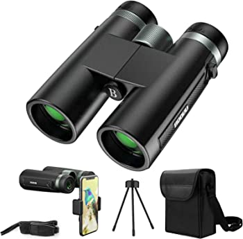Boovv 12x42 Binoculars with Smart Phone Adapter