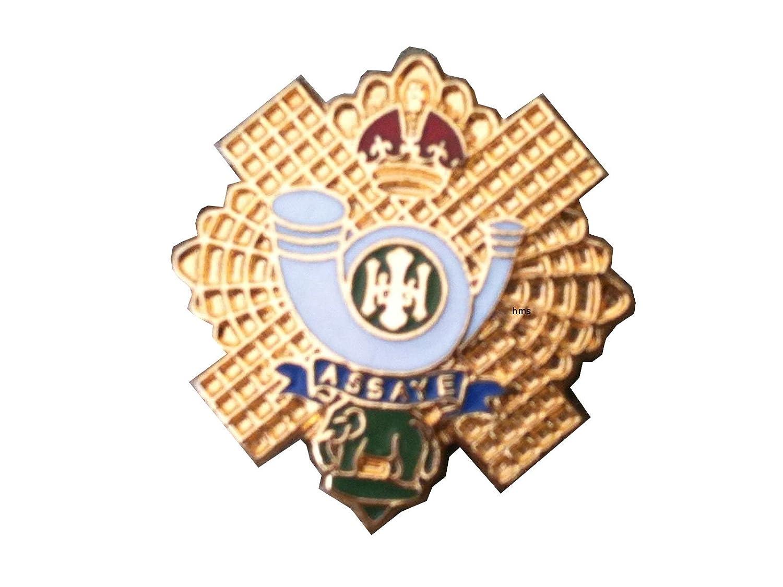 Highland Light Infantry Lapel Military Badge