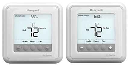 Honeywell TH6210U2001 T6 Pro Programmable Thermostat (Pack of 2)
