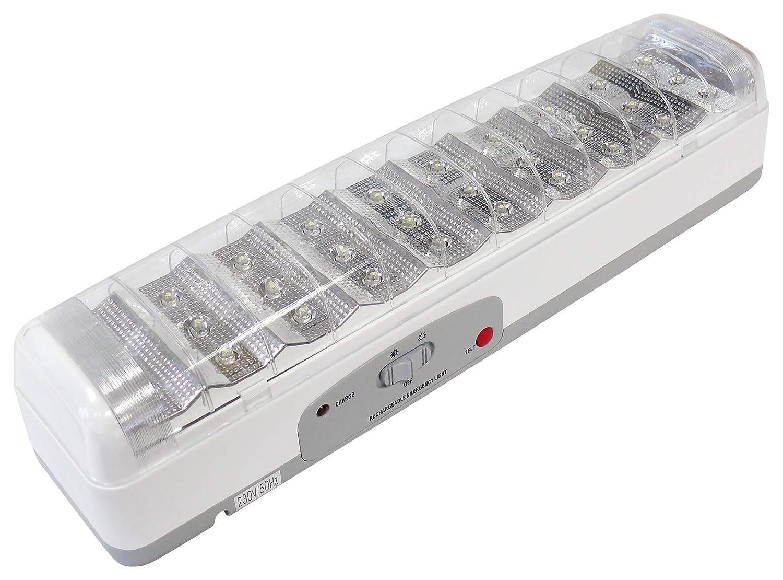 L/ámpara de emergencia de 30 led con bater/ía Blanko 238L