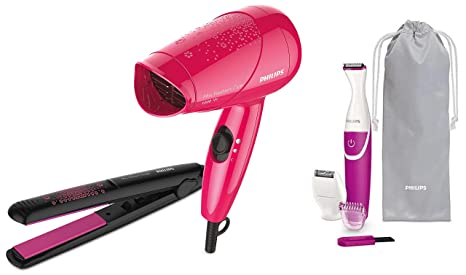 Philips Straightener Dryer Styling Kit (HP8643/46) & Bikini