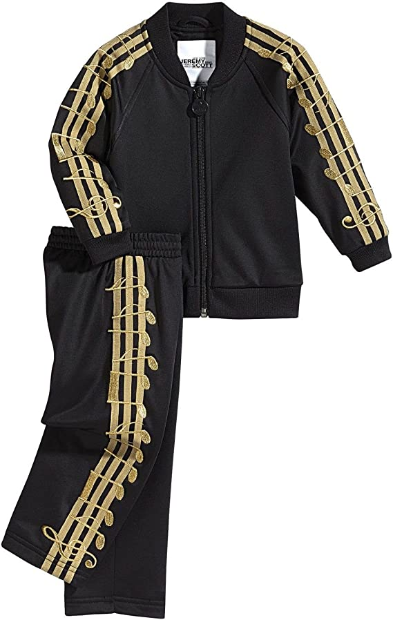 adidas Originals Baby Jogger Jeremy Scott Suit Chándal música Nota