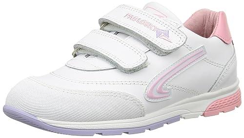 PABLOSKY 900007 - Deportivo Velcros Infantiles, Color Blanco, Talla 29