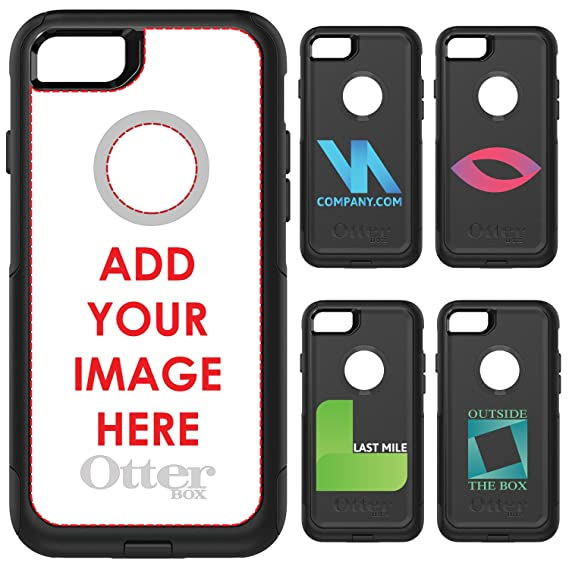 the best attitude 2ec4a a370e Amazon.com: DistinctInk OtterBox Commuter for iPhone 7 / iPhone 8 ...