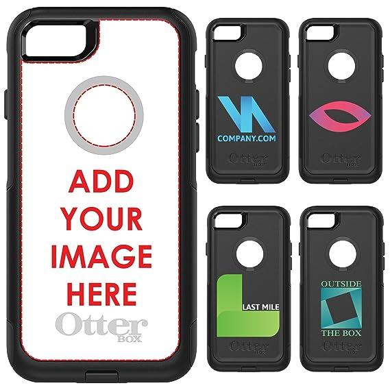 the best attitude 68256 8c712 Amazon.com: DistinctInk OtterBox Commuter for iPhone 7 / iPhone 8 ...