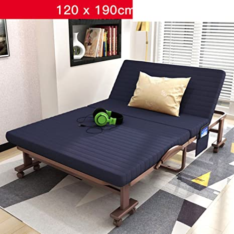 Amazon.com: Cama plegable Cama/Single Pan/cama doble/Cama ...