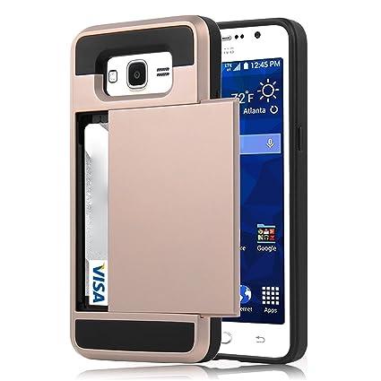 Amazon.com: Samsung Galaxy Grand Prime Wallet Case, Galaxy ...