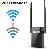 MSRM US302 300Mbps Wi-Fi Range Extender With Dual External Antennas Full Coveragage 360 Degree