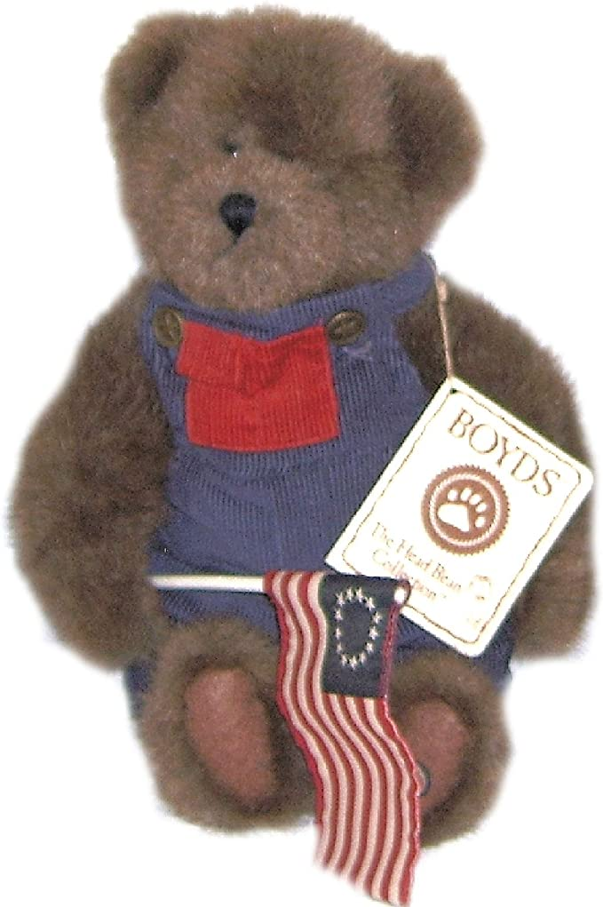Boyds Bears Plush BLAIRS U.S.A LETTERS 658192 RFB Patriotic