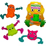 Best Selling Novelty Gift DIY Monster Alien Putty - Great Christmas Stocking Filler, Office Gift, Boys, Girls, Kids, Boyfriend, Girlfriend - Need For Gift