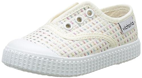 Victoria Inglesa Elástico Lurex, Zapatillas Unisex Niños: Amazon.es: Zapatos y complementos