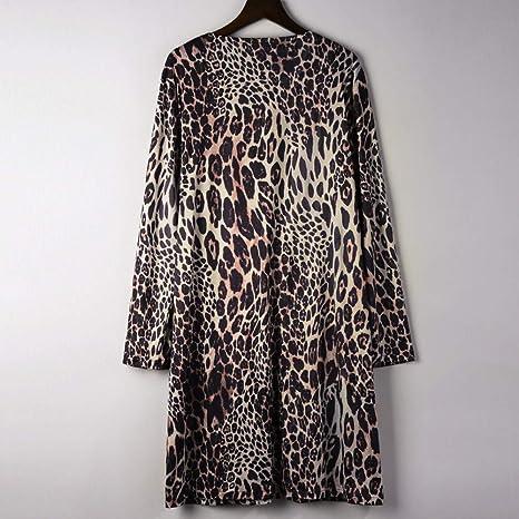 Amazon.com: Clearance Sale Women Coat,Womens Long Sleeve Leopard Print Fashion Coat Button Open Front Bllouse T-Shirt Tank Tops (XL, Brown): Garden & ...