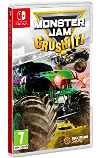 cd5a509389a18 Amazon.com  Monster Jam Crush It - Nintendo Switch Standard Edition ...
